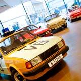 Výstava vozů Škoda v OD Kotva