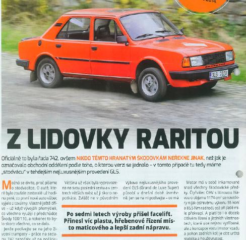 Retro-auta v tisku 2015